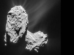 دنباله دار 67P زمانی متولد شد که دو هسته یکی شدند!