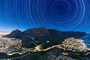رد ستارگان بر فراز کوه تیبل
