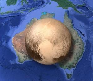 پلوتون در داخل استرالیا جا می شود