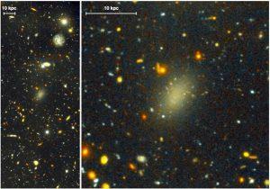 کشف کهکشانی که تقریبا دیده نمی شود!