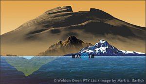 مقایسه ی کوه المپوس مریخ با اورست