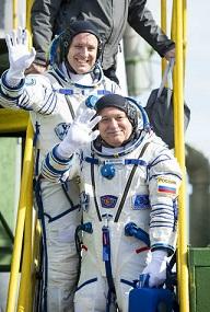 ایستگاه فضایی بینالمللی میزبان دو فضانورد تازه نفس شد