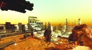ساخت شهر در مریخ توسط امارات