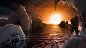 کشف امکان دادوستد حیات بین سیارات تراپیست-۱