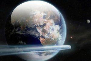 گذر سیارکی با قطر ۱۵ متر از کنار زمین