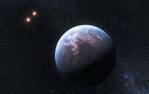 یک منظومۀ دو ستاره ای و کشف سیاره ای بزرگ در آن