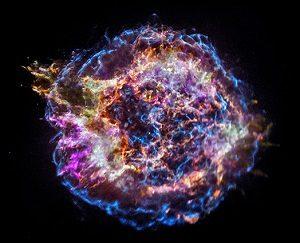 چاندرا از جزئیات توزیع عناصر در بقایای یک ابرنواختر خبر داد