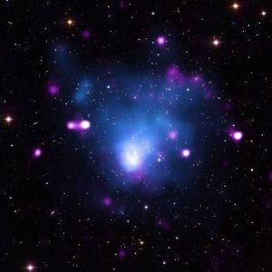 دادههای پرتوایکس تابش شده از خوشهای کهکشانی