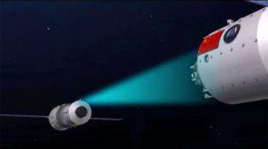 نابودی اولین ایستگاه فضایی چین تا آوریل 2018