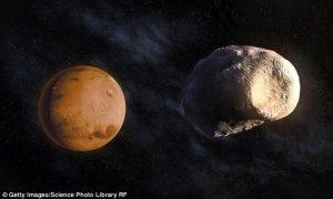 """قمرهای """"سیبزمینی"""" شکل مریخ"""