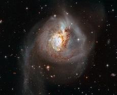 تلسکوپ هابل از ثمره برخوردی کیهانی تصویربرداری کرد