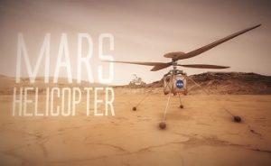 پرواز بالگرد بر فراز مریخ