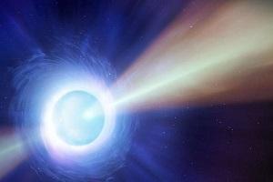 مشاهده فوارهای از ماده در برخورد دو ستاره مُرده