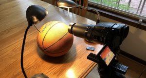 اثبات گرد بودن سیاره زمین به کمک توپ بسکتبال