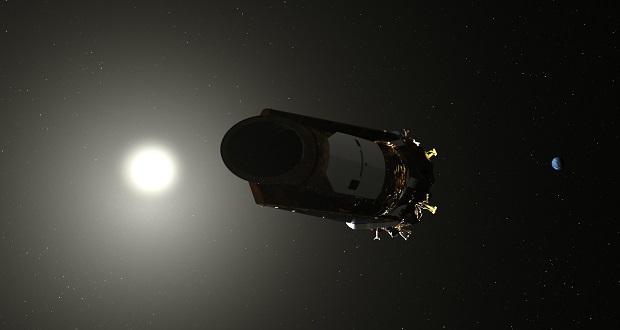 ناسا تسلکوپ فضایی کپلر را به منظور کاهش مصرف سوخت به حالت خواب فرستاد