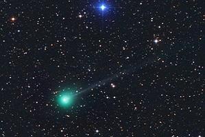 دنبالهدار پناستارز را در حالت مقارنه با ستاره پولوکس رصد کنید